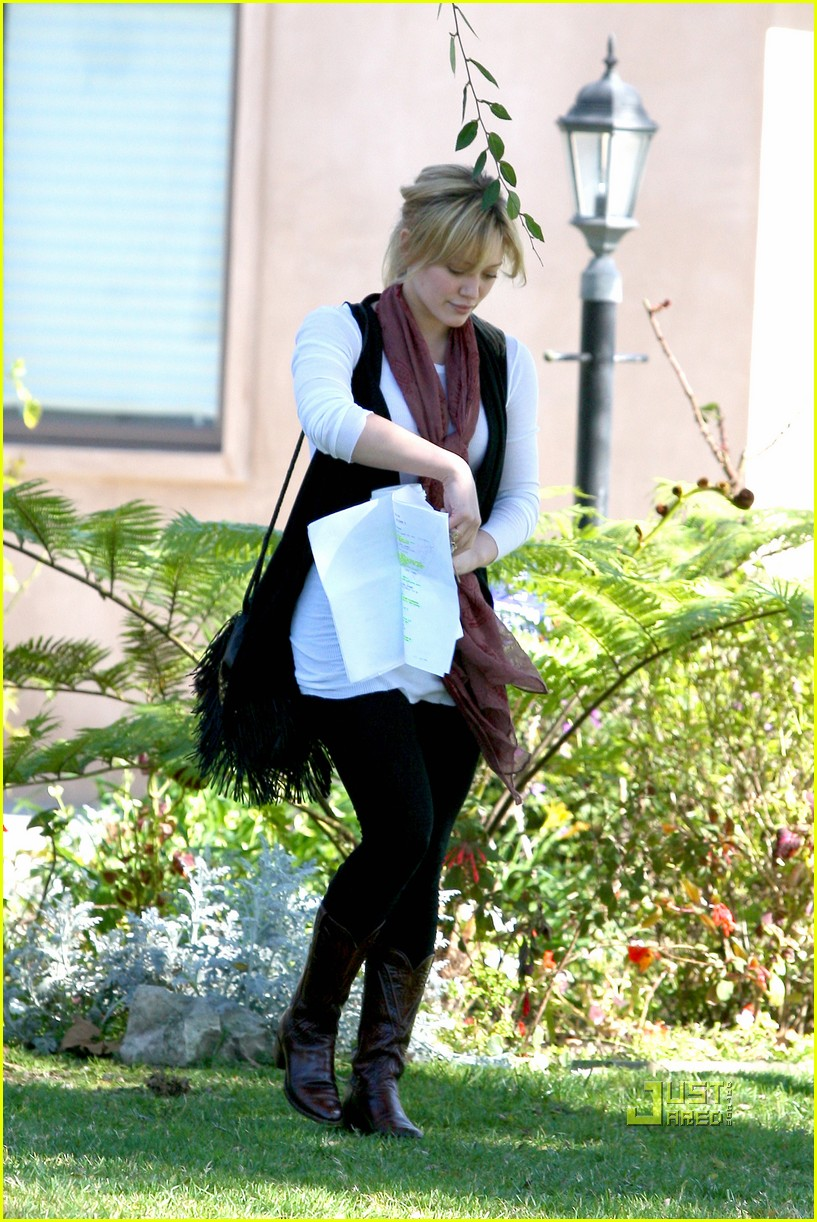 hilary duff script north hollywood 01