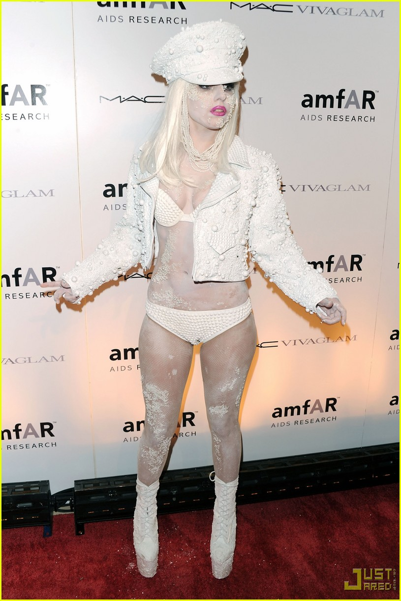 lady gaga amfar new york gala 04