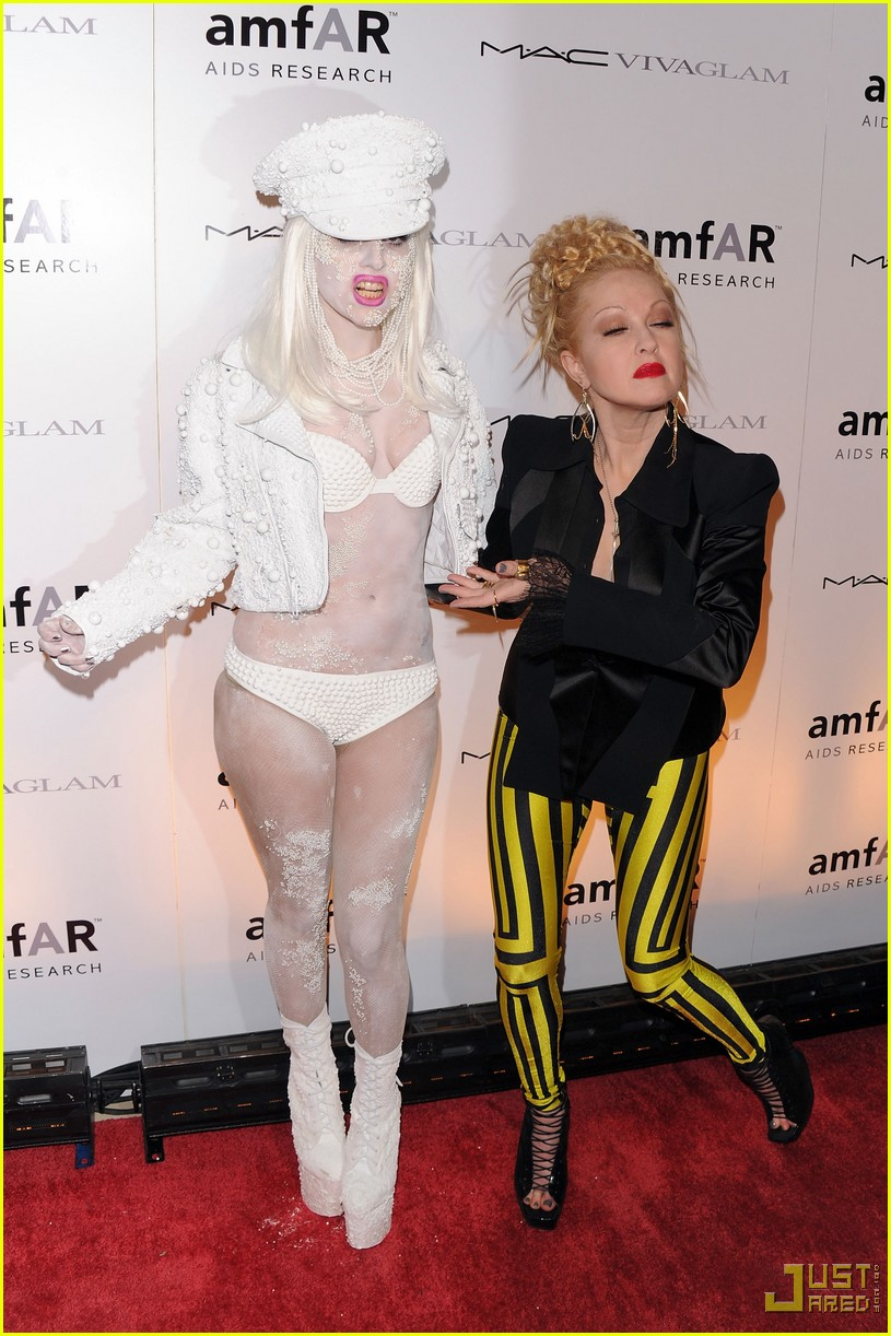 lady gaga amfar new york gala 13