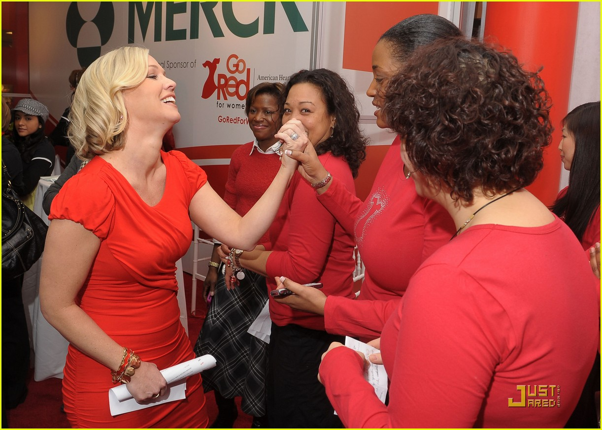 jennie garth go red for women 06