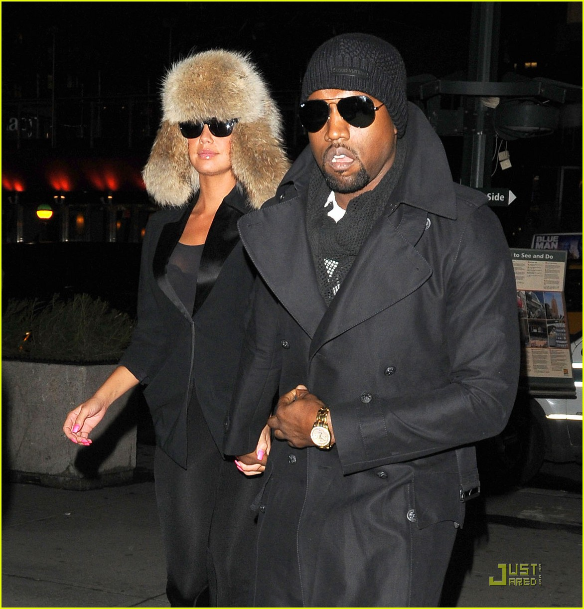 kanye west amber rose black eyed peas fans 03