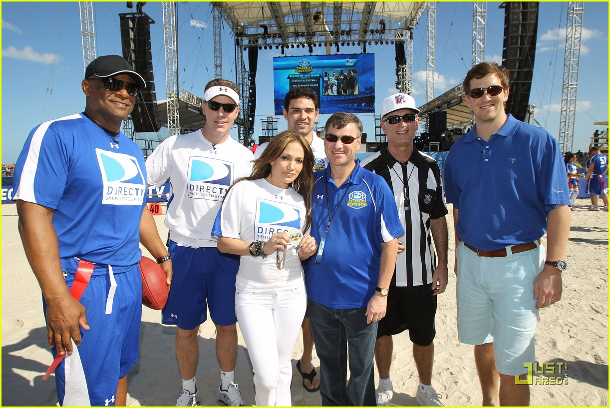 jennifer lopez directv celebrity beach bowl 362425963