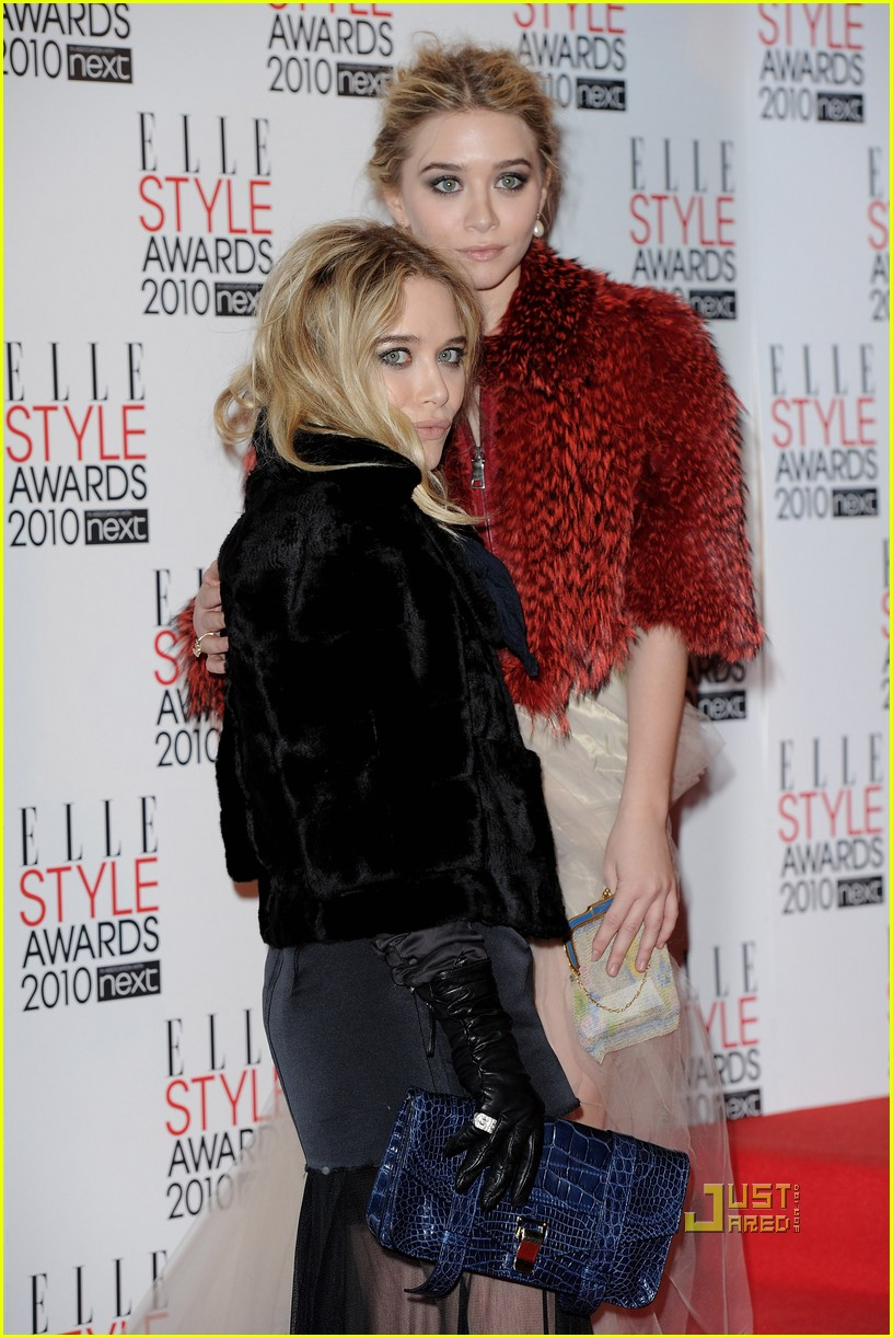 olsen twins elle style awards 04