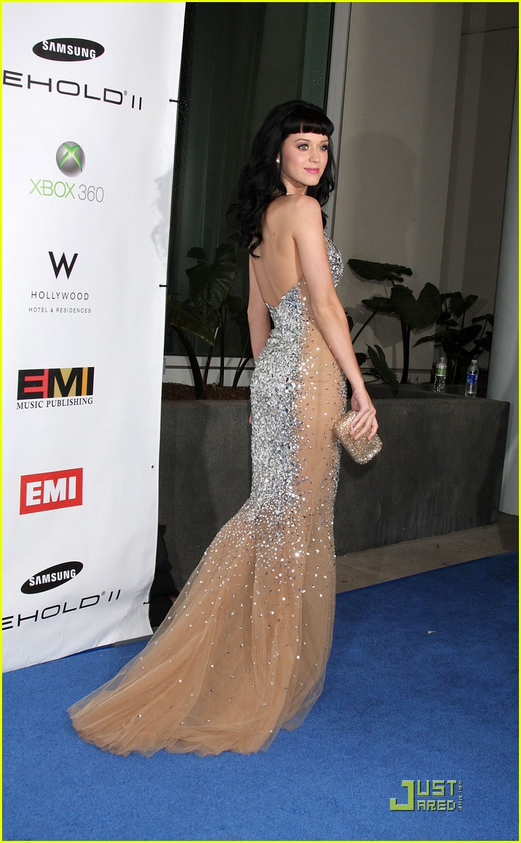 katy perry grammys 2010 emi party 21