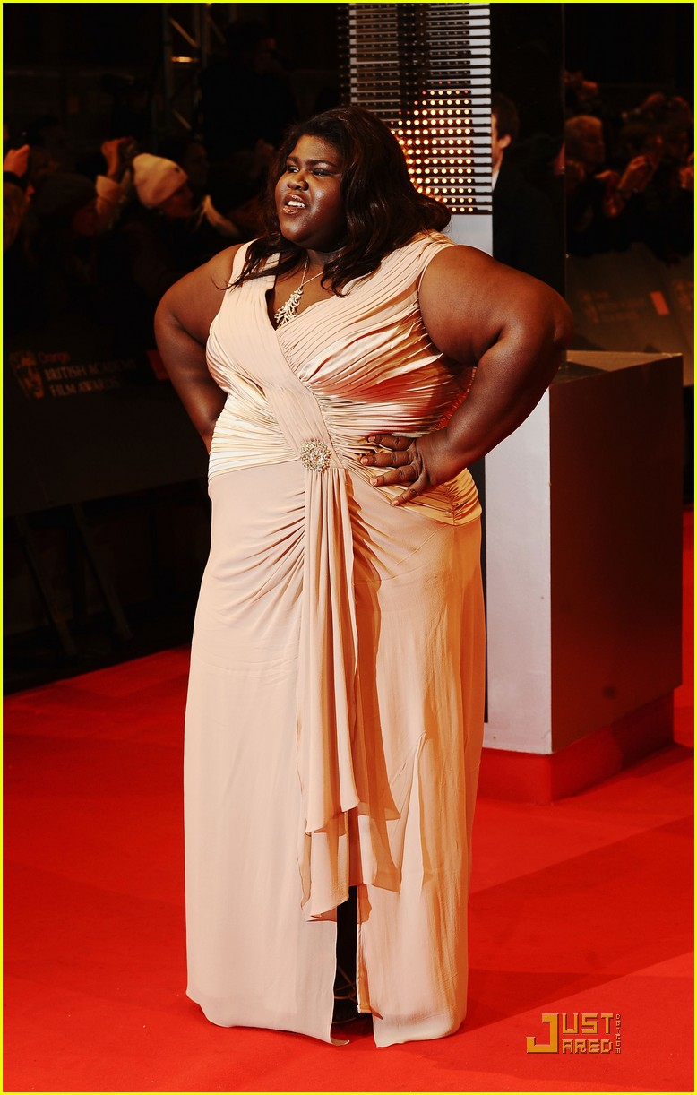 gabourey sidibe bafta awards 2010 10