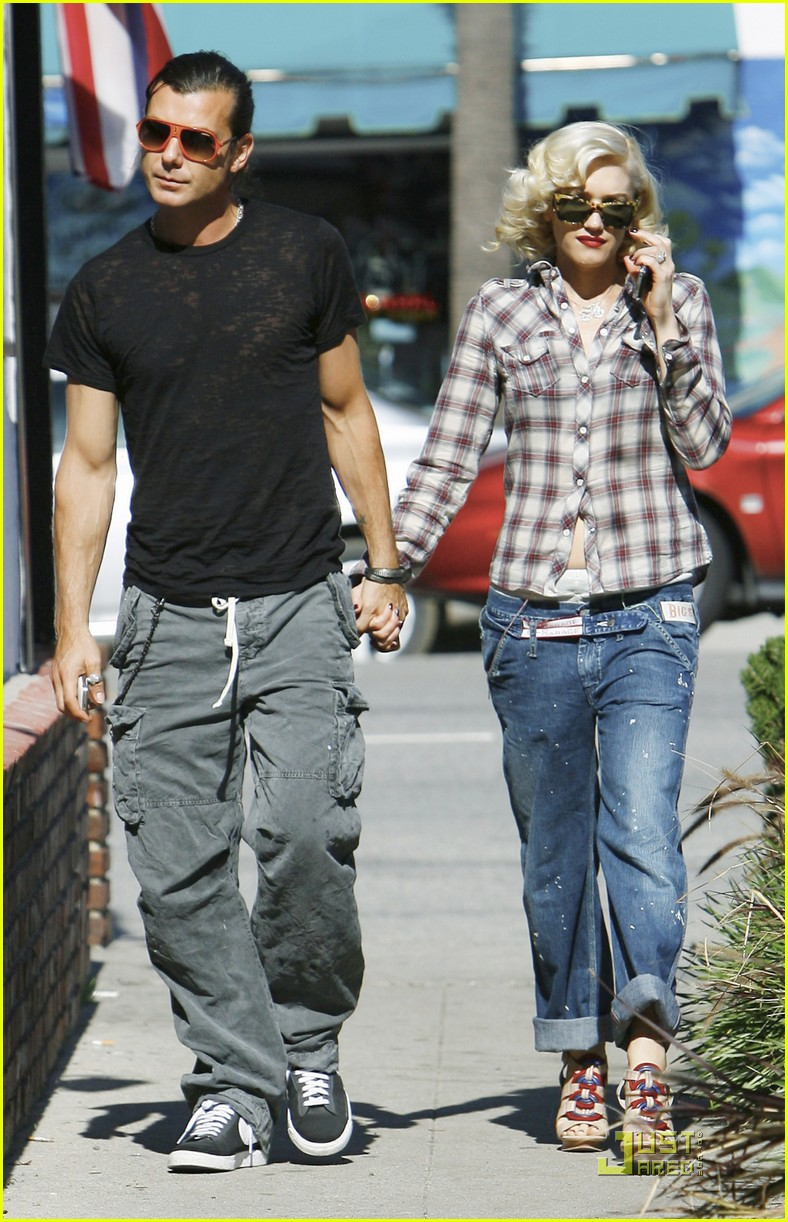 gwen stefani rossdale lunch lovebirds 20