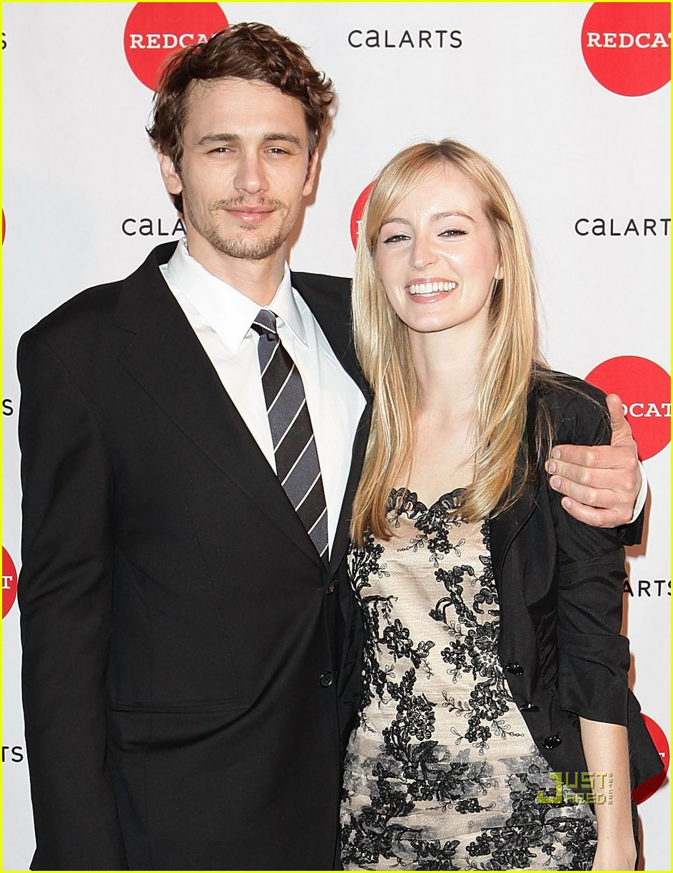 James Franco with his ex-girlfriend Ahna O'Reilly