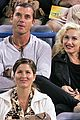gwen stefani gavin rossdale roger federer tennis match 08