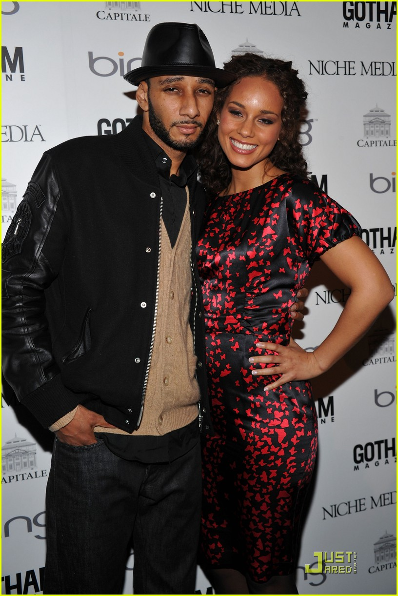 alicia keys steps out with swizz beatz 032434959