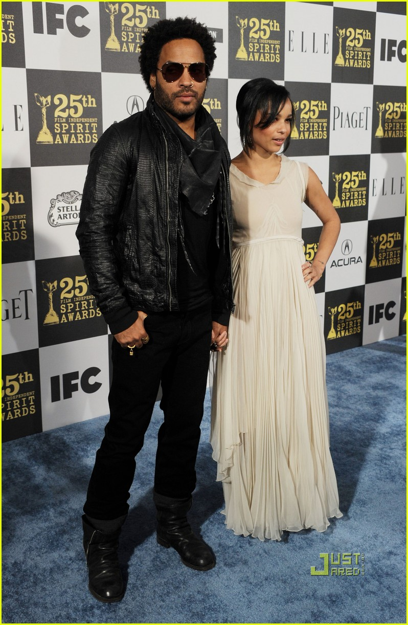 zoe kravitz lenny 2010 independent spirit awards 01