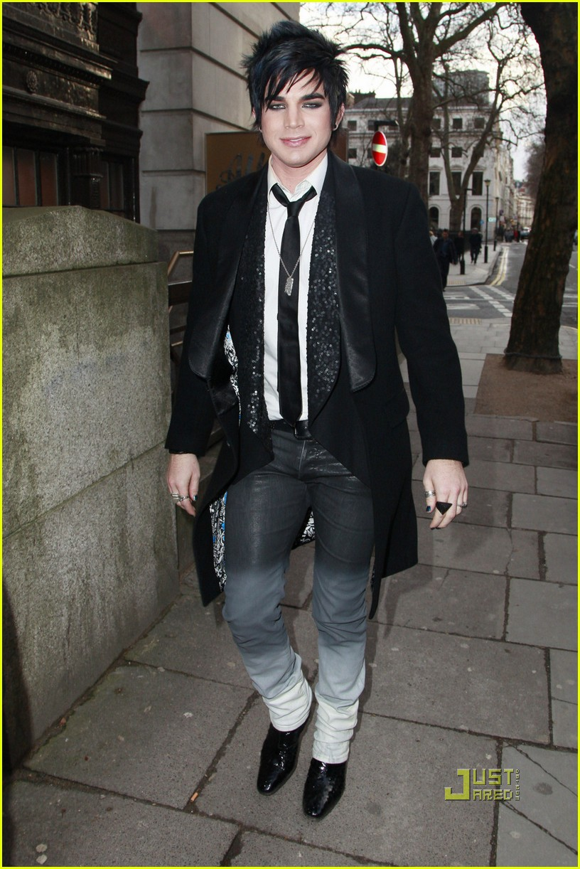 adam lambert bowling alley london 01