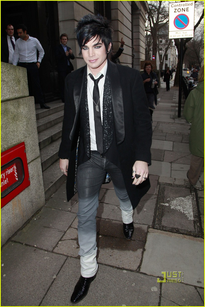 adam lambert bowling alley london 05