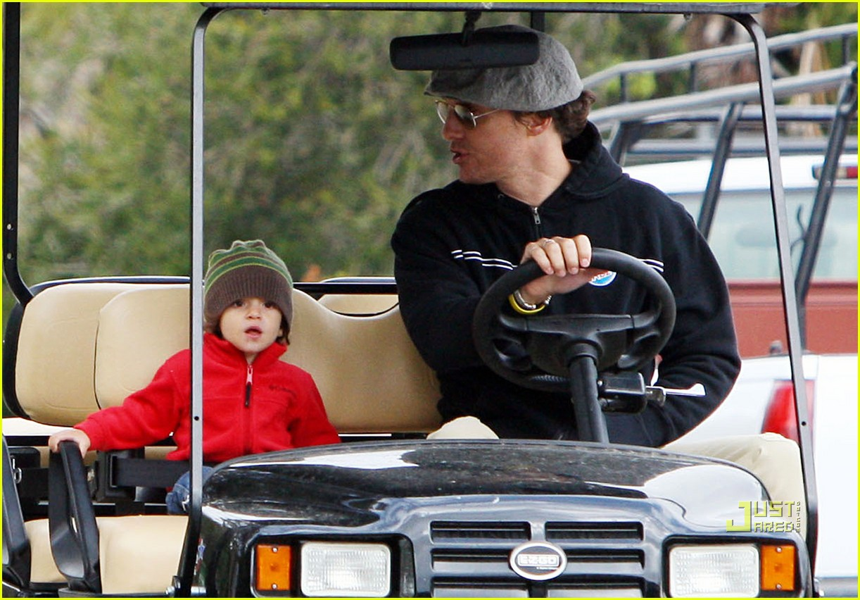 levi matthew mcconaughey golf cart 062437563