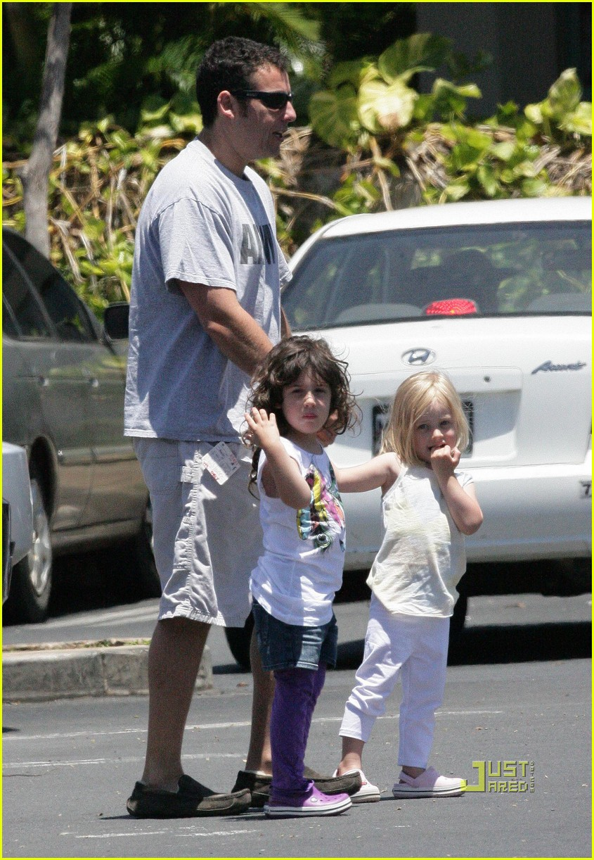 adam sandler sadie friend playing in hawaii 01