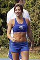 ashley tisdale sports bra 05