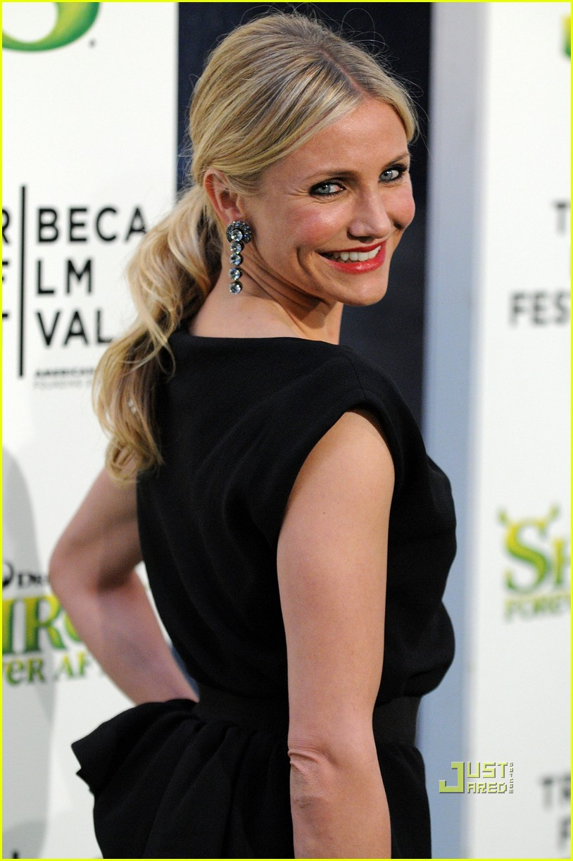 cameron diaz shrek forever after premiere 09