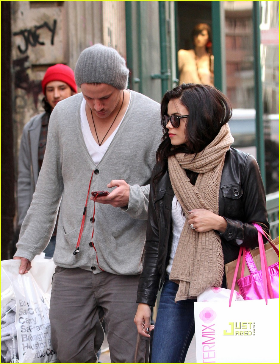 channing tatum jenna dewan soho shopping 02