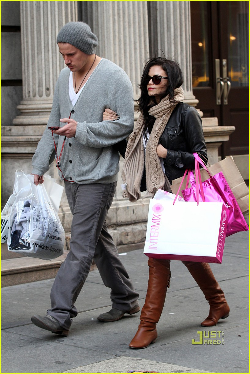 channing tatum jenna dewan soho shopping 03