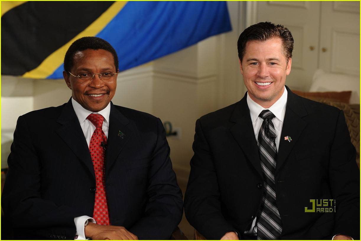 doug pitt goodwill ambassador tanzania 112444143