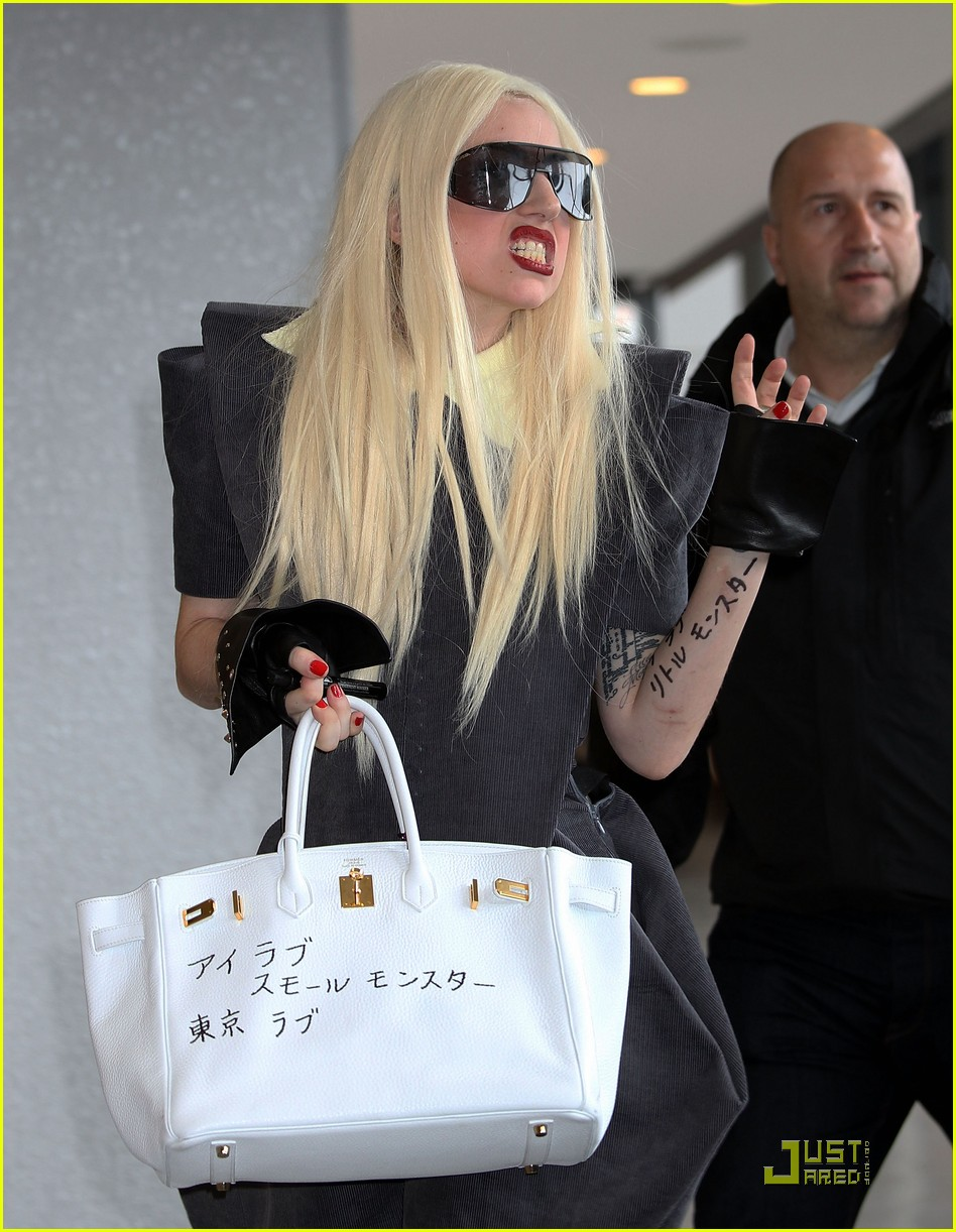 lady gaga is new to narita 102442100