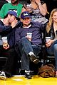 leonardo dicaprio bar refaeli lakers game 01