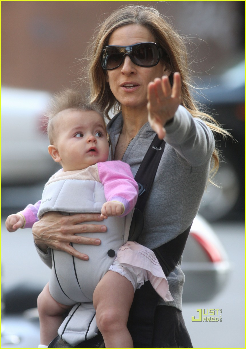 sarah jessica parker baby new york city 032440124