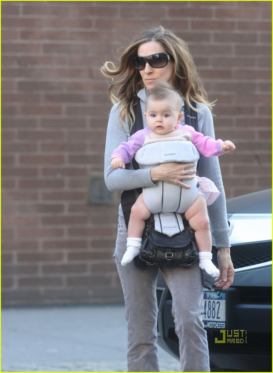 sarah jessica parker baby new york city 07