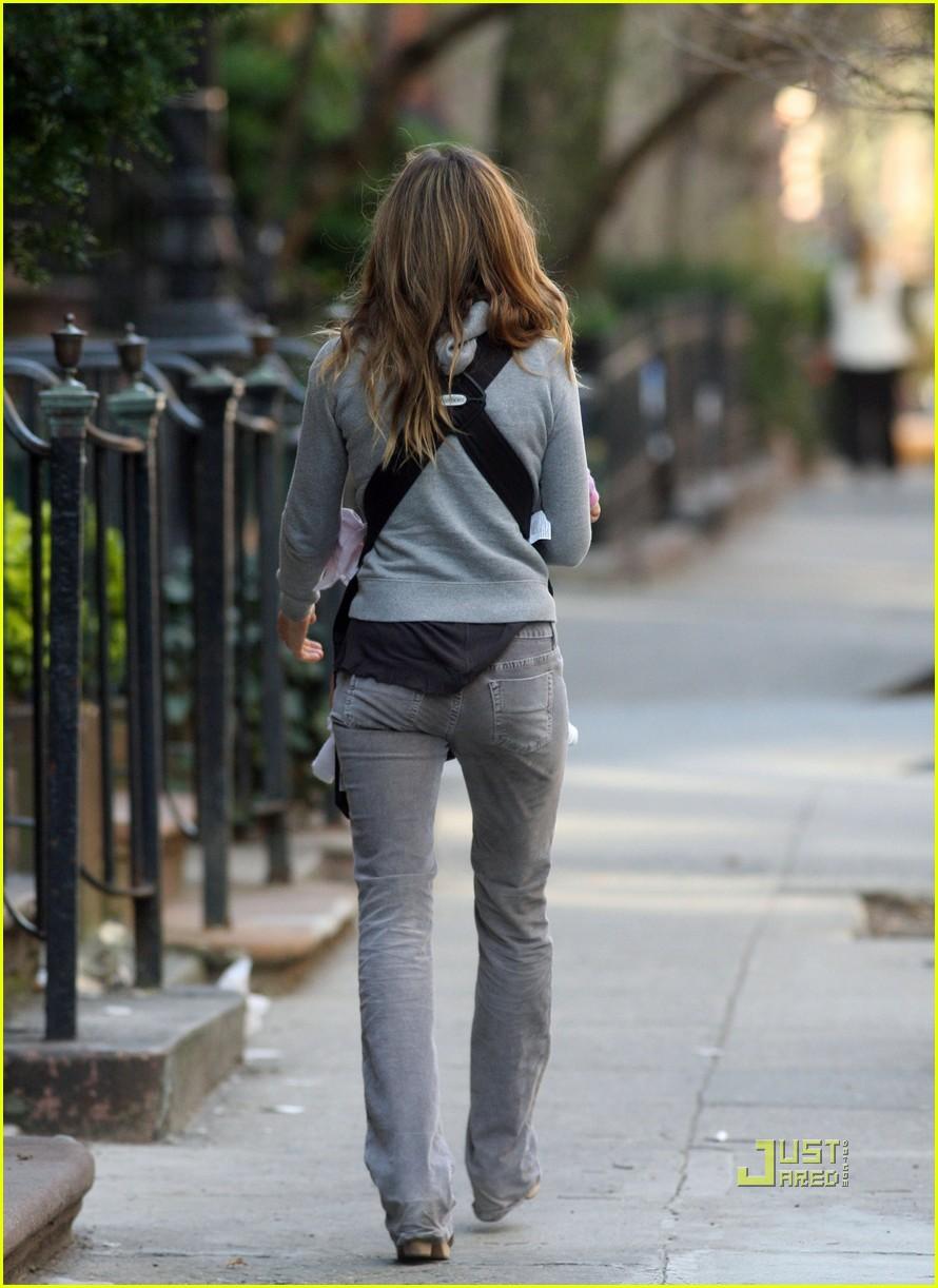 sarah jessica parker baby new york city 10