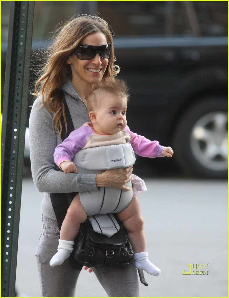 sarah jessica parker baby new york city 11