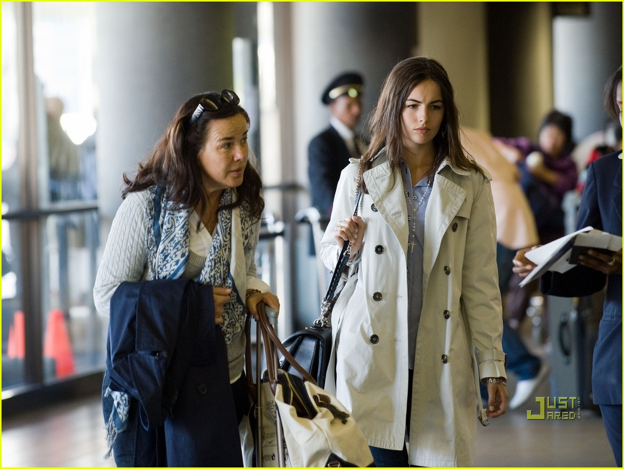 Camilla Belle mom