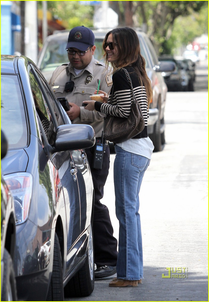 rachel bilson parking ticket 16
