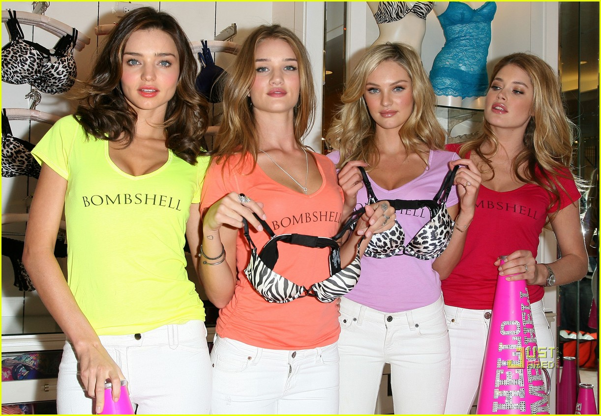 miranda kerr bombshell victorias secret 12