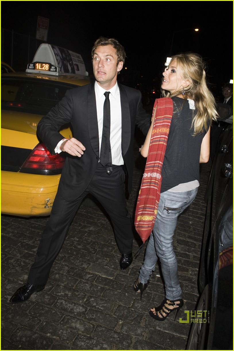 Jude Law & Sienna Miller: Pastis Pair Jude Law