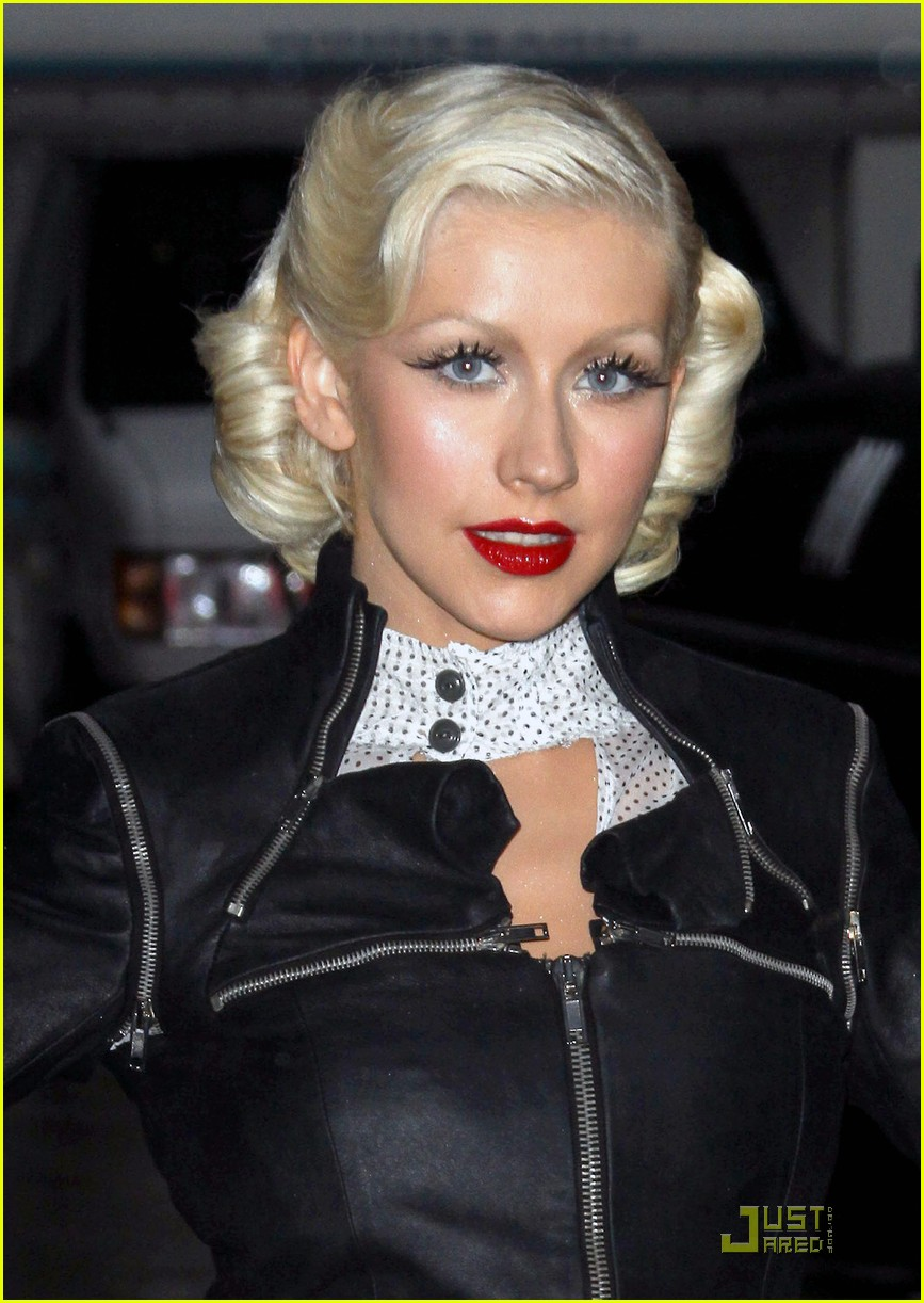 christina aguilera lost letterman 062457643