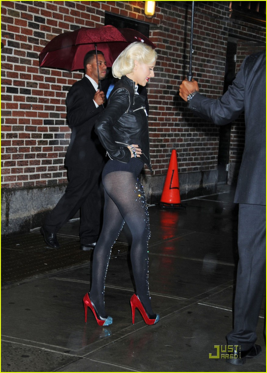 christina aguilera lost letterman 112457648