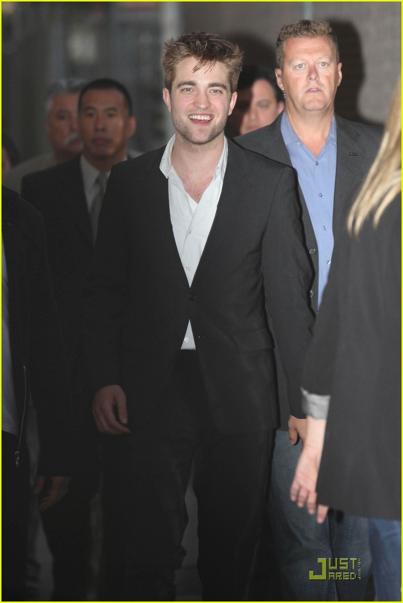 eclipse robert pattinson kristen stewart jimmy kimmel 25