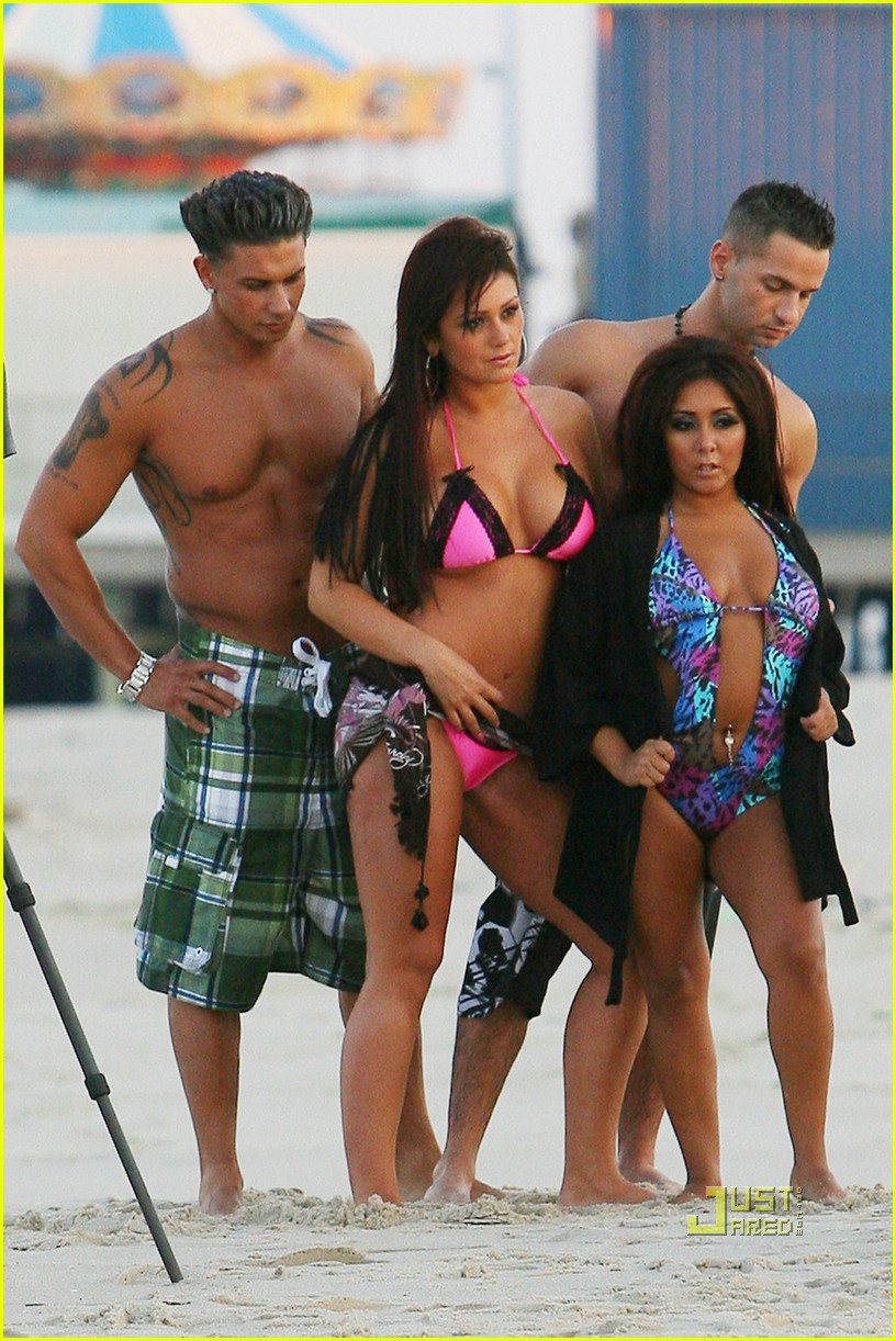 jersey shore cast beach photo shoot 12