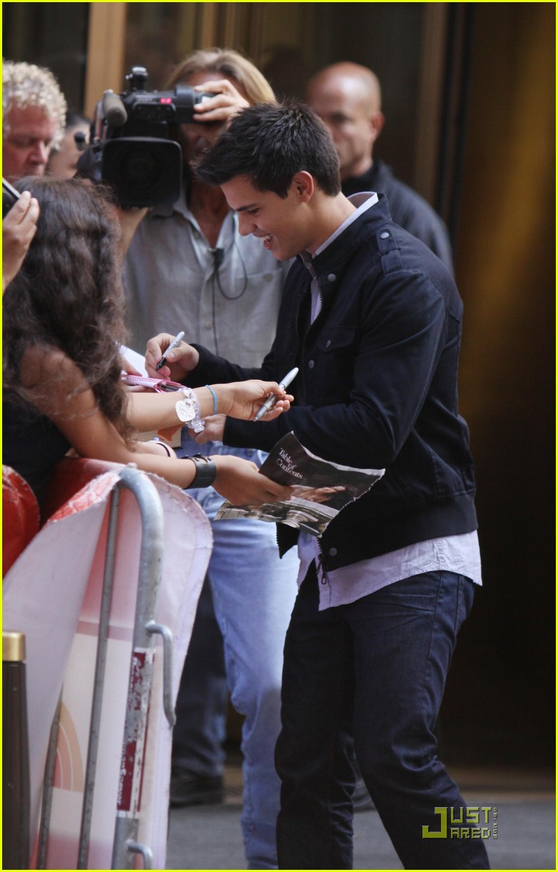Taylor Lautner: Twilight For 'Today' Taylor Lautner
