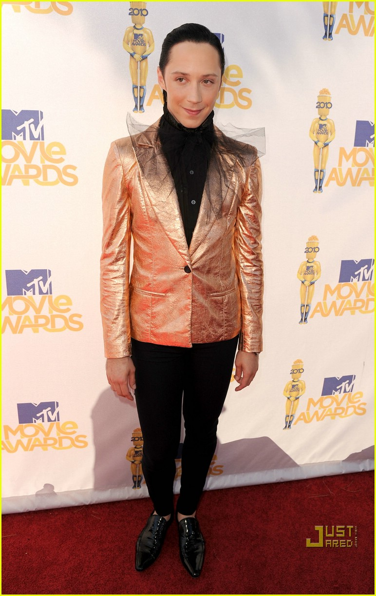 shaun white johnny weir mtv movie awards 2010 012456728