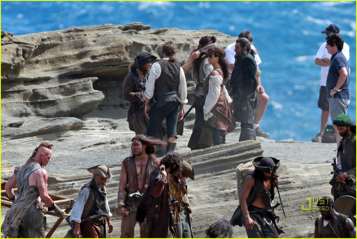 johnny depp penelope cruz pirates 4 oahu 04