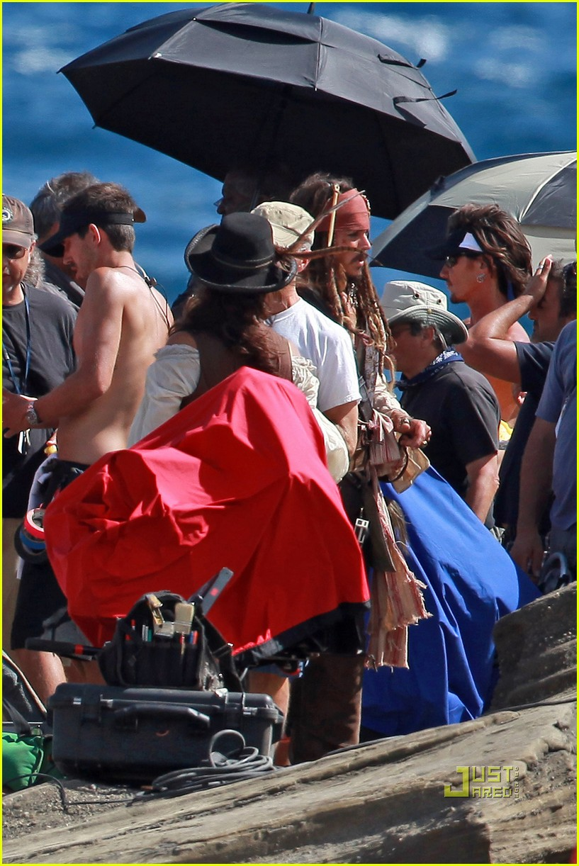 johnny depp penelope cruz pirates 4 oahu 09