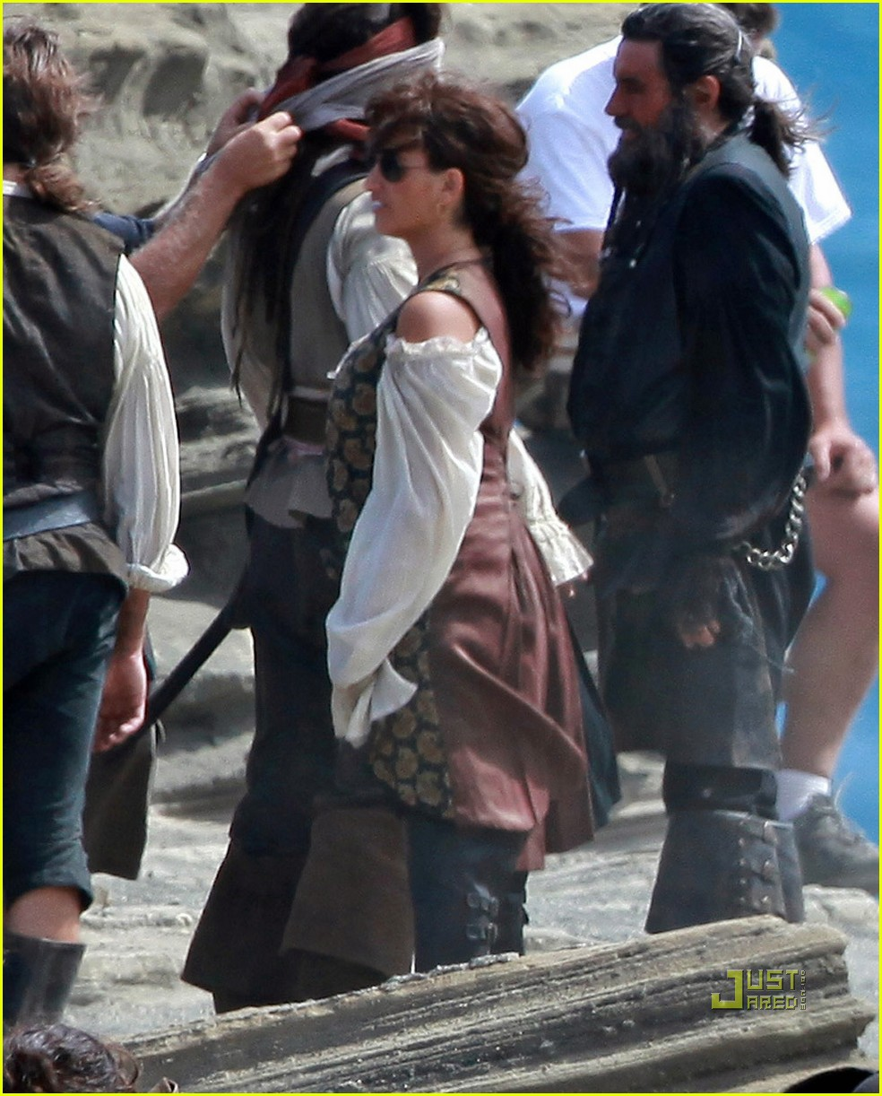 johnny depp penelope cruz pirates 4 oahu 10