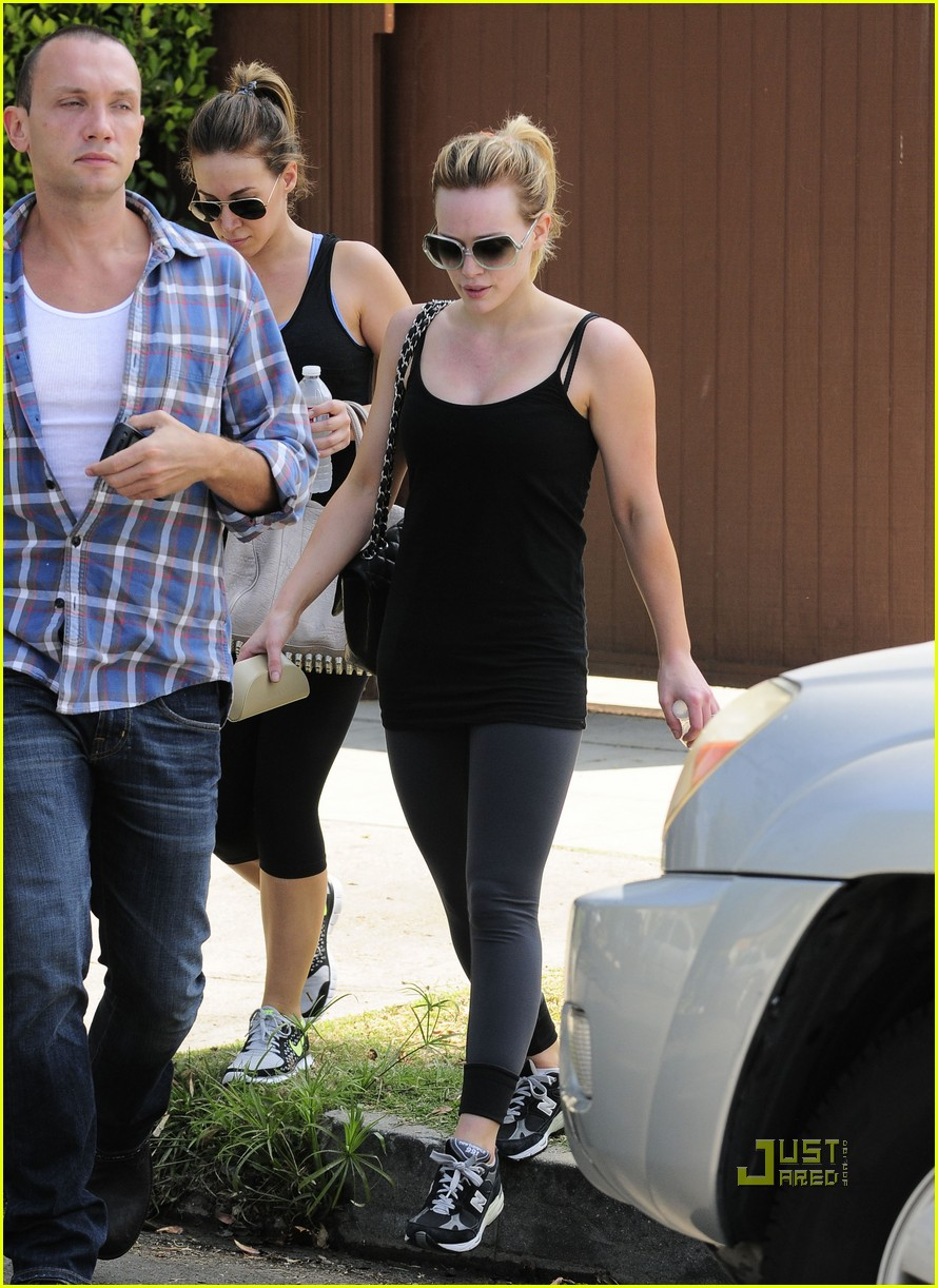 hilary duff haylie gym 01