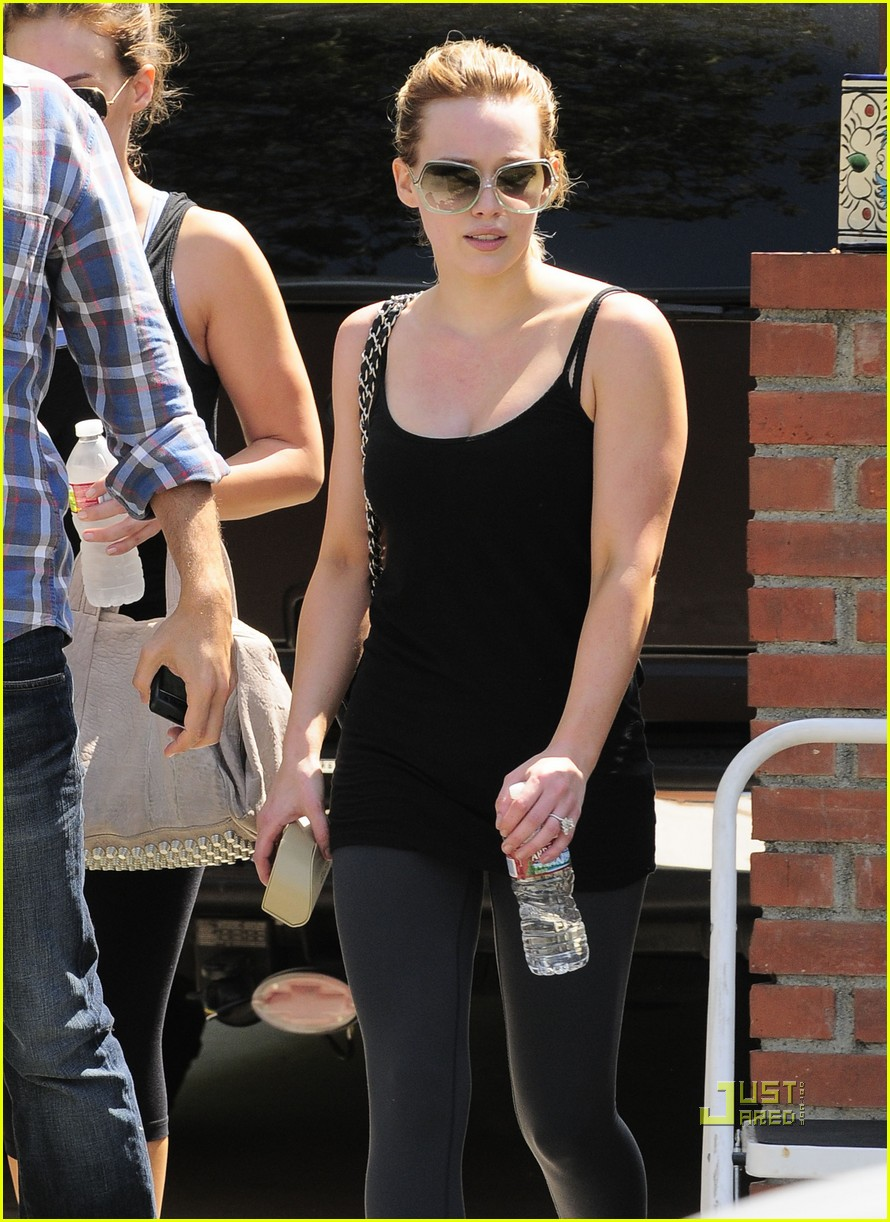 hilary duff haylie gym 02