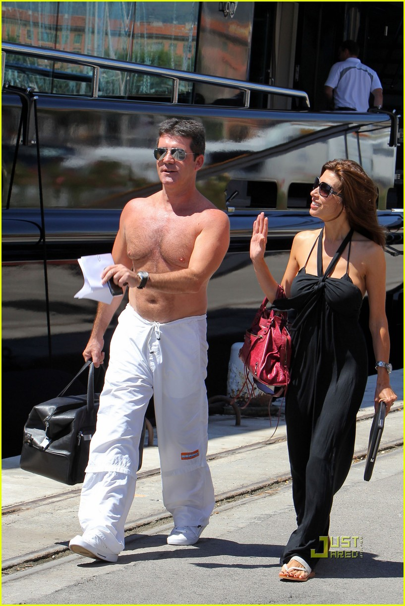 simon cowell chest hair 032471865