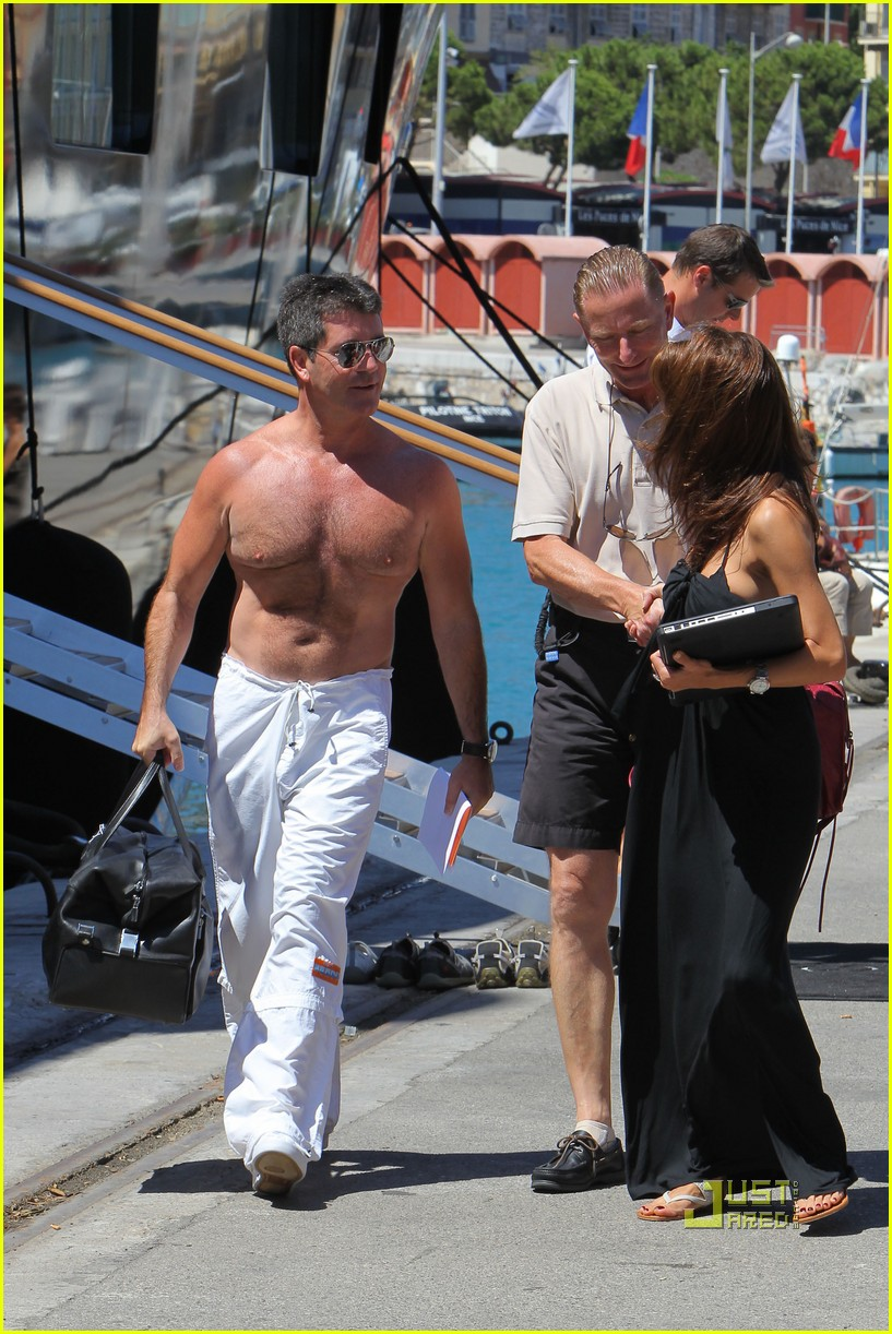simon cowell chest hair 112471873
