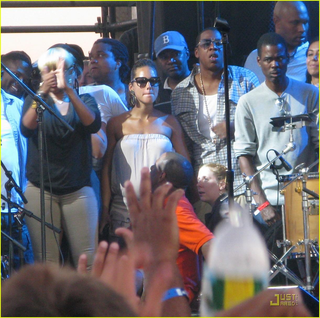 alicia keys concert 09