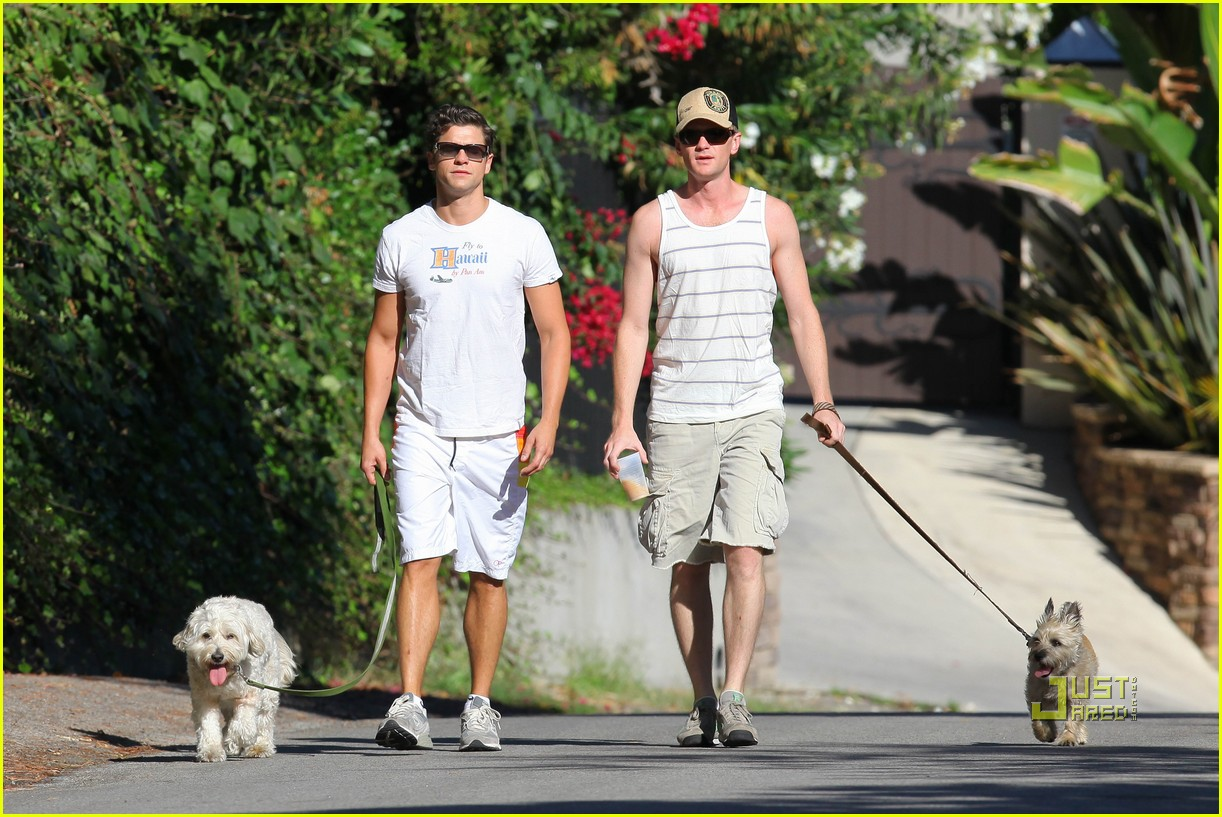 neil patrick harris david burtka dogwalking 072474785