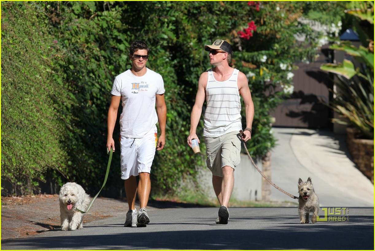neil patrick harris david burtka dogwalking 15
