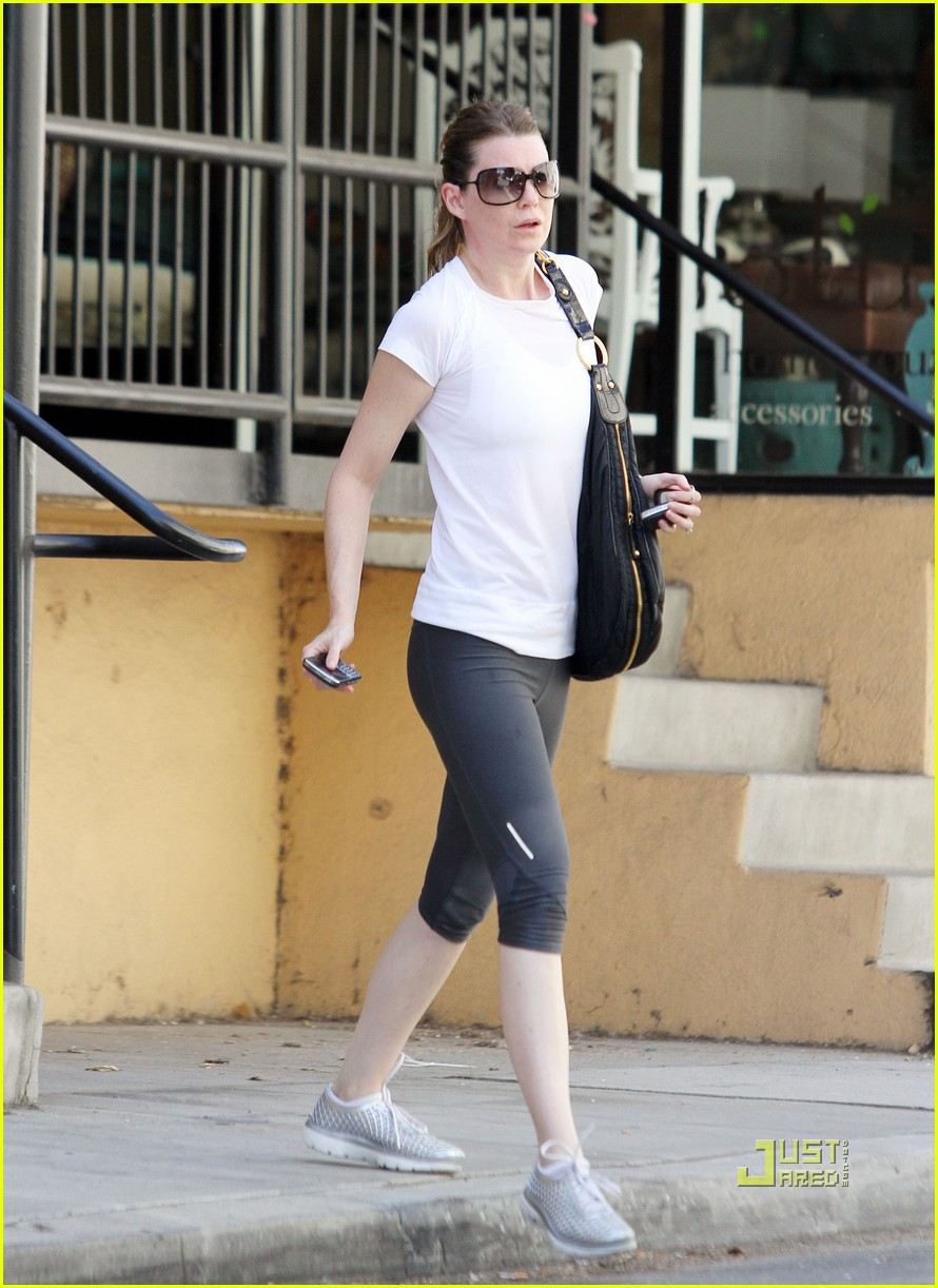ellen pompeo workout errands studio city 03